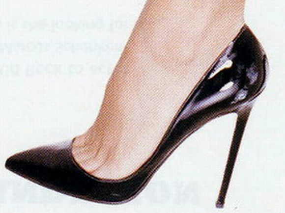 stiletto heel