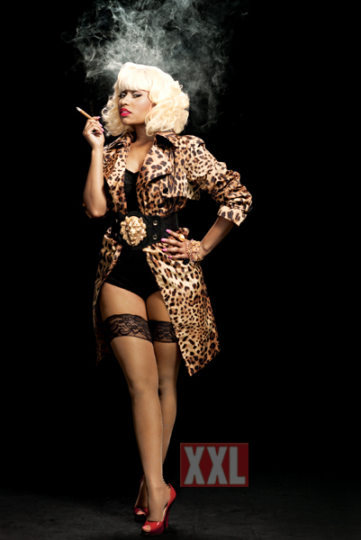 peak of Nicki Minaj#39;s XXL