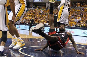 NBA: Playoffs-Miami Heat at Indiana Pacers